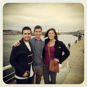 """My """"brothers,"""" Ignacio y Carlos."""