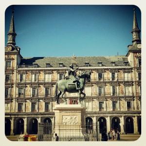 Plaza Mayor of Madrid!